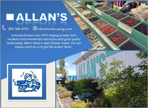Yard Design Saskatoon: Allan's Landscaping Ltd.